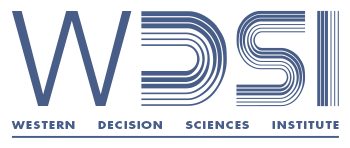 Western Decision Sciences Institute